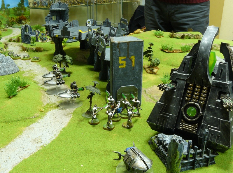 Warhammer 40K. Galerie de Batailles ! P1180131