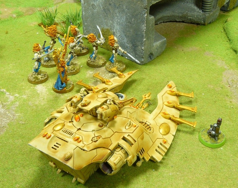 Warhammer 40K. Galerie de Batailles ! P1180135