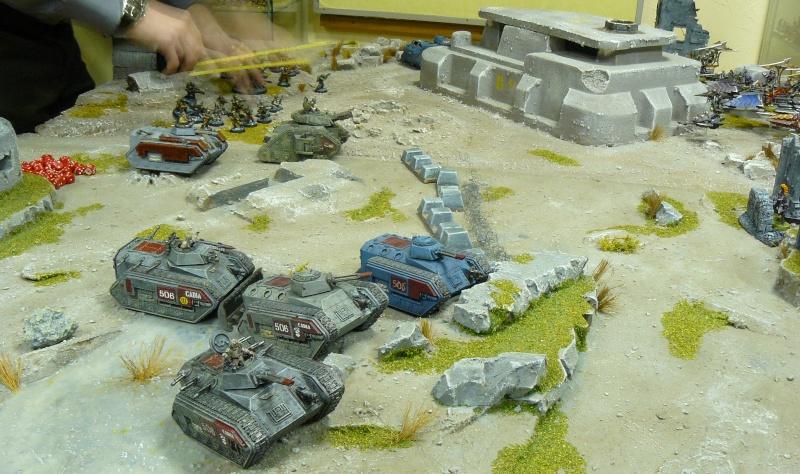 Warhammer 40K. Galerie de Batailles ! P1180327