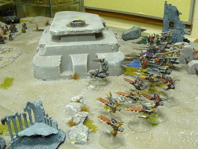 Warhammer 40K. Galerie de Batailles ! P1180328