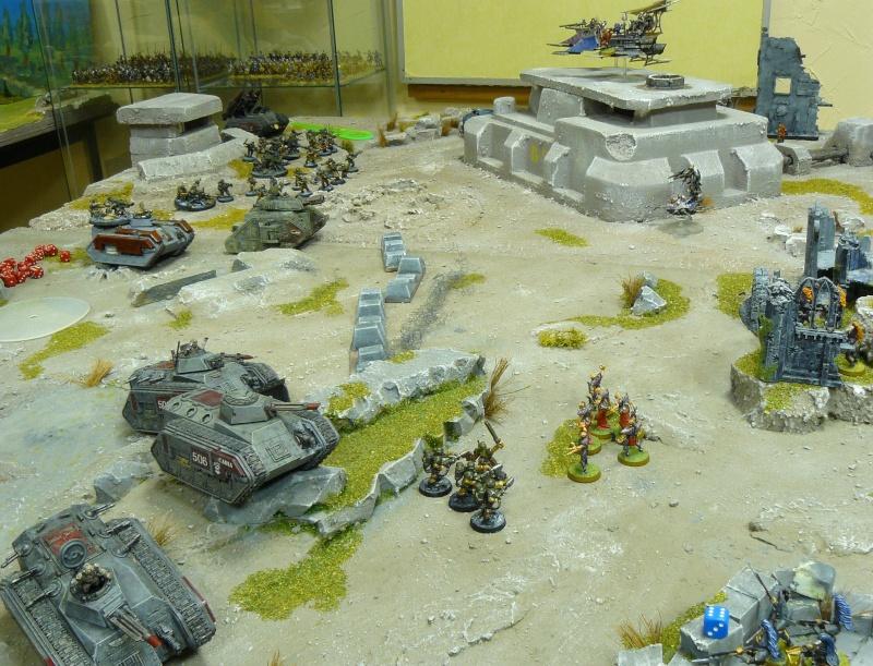 Warhammer 40K. Galerie de Batailles ! P1180329