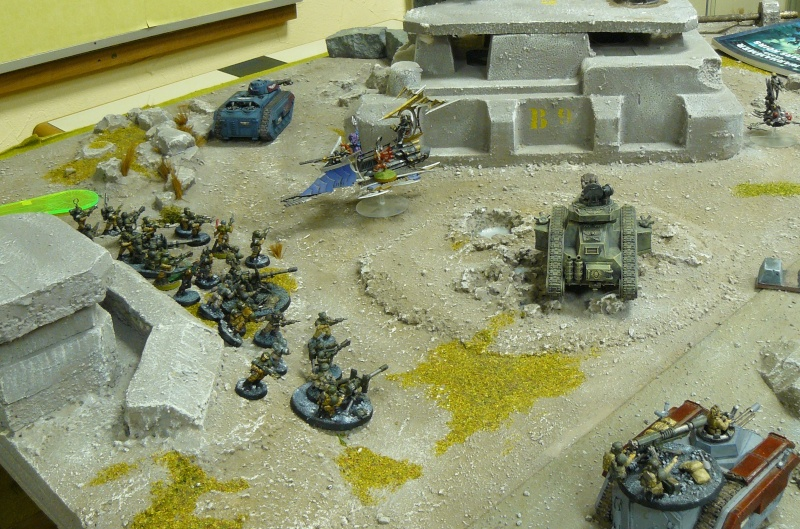 Warhammer 40K. Galerie de Batailles ! P1180330