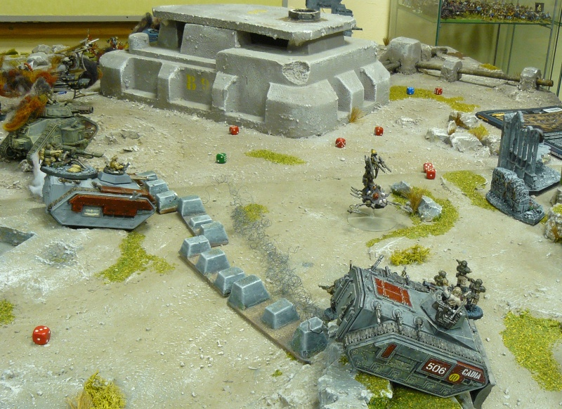 Warhammer 40K. Galerie de Batailles ! P1180331