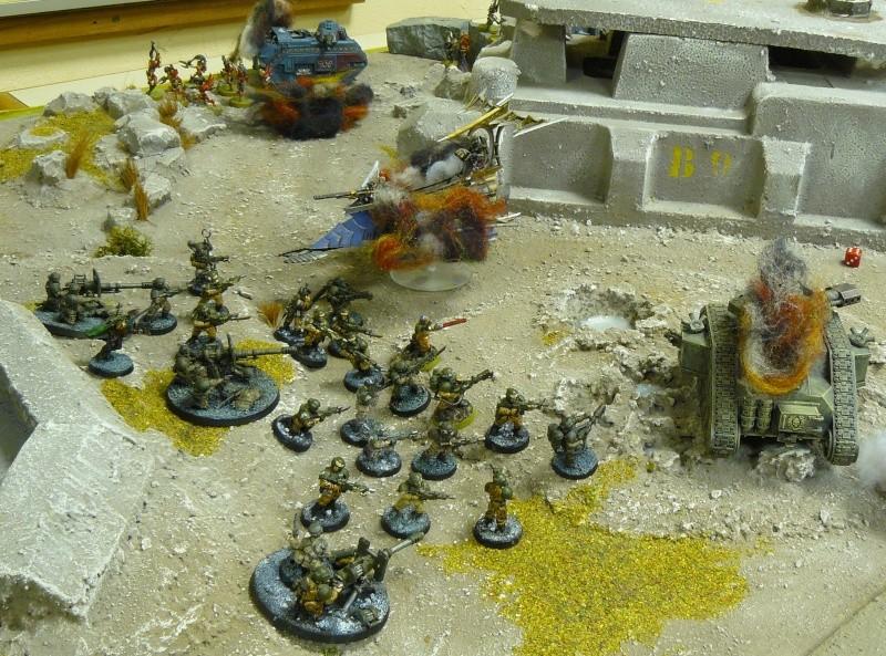 Warhammer 40K. Galerie de Batailles ! P1180332