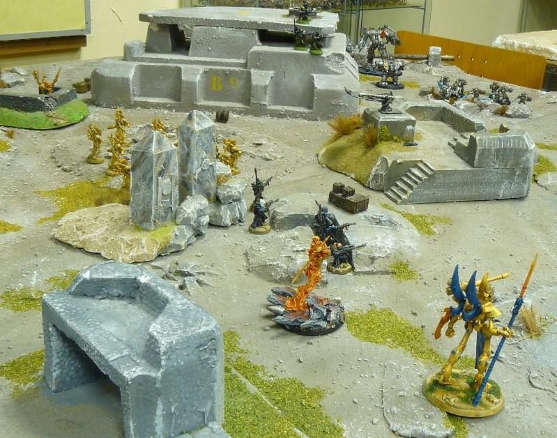 Warhammer 40K. Galerie de Batailles ! P1180563