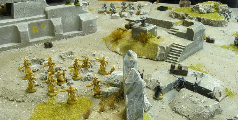 Warhammer 40K. Galerie de Batailles ! P1180564