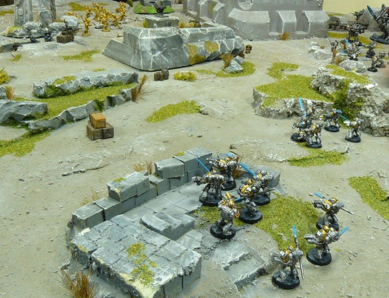 Warhammer 40K. Galerie de Batailles ! P1180565
