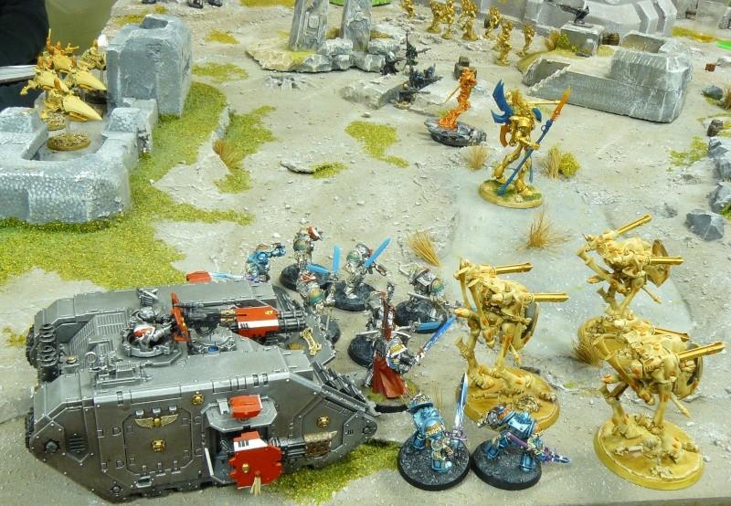 Warhammer 40K. Galerie de Batailles ! P1180567