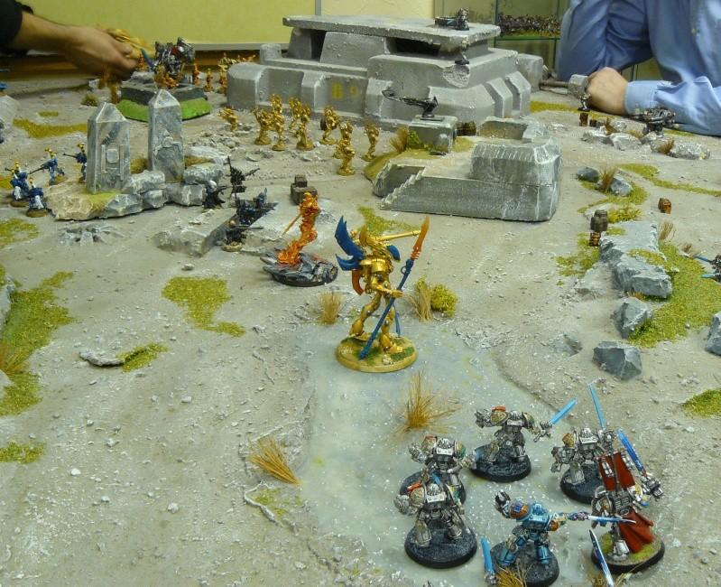 Warhammer 40K. Galerie de Batailles ! P1180618