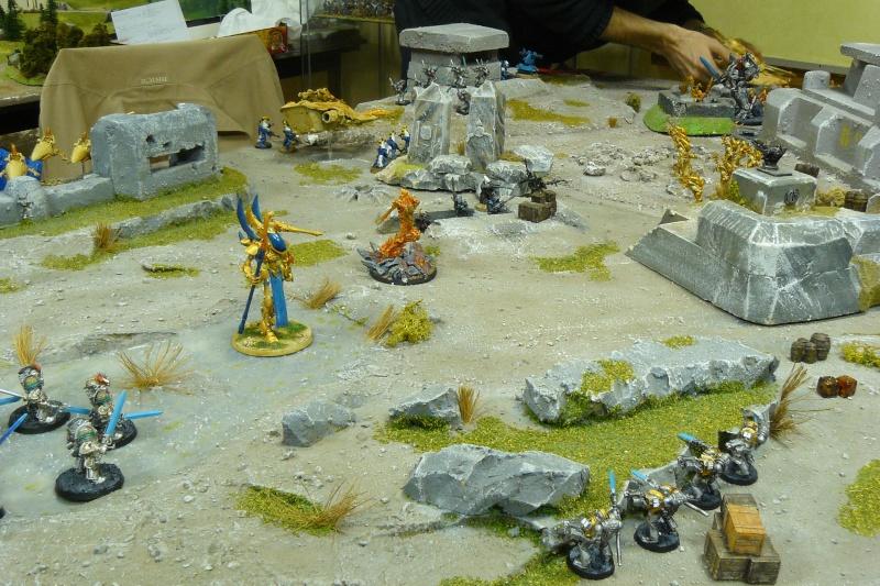 Warhammer 40K. Galerie de Batailles ! P1180619