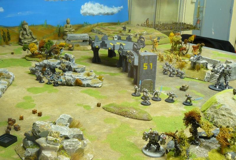 Warhammer 40K. Galerie de Batailles ! P1180664