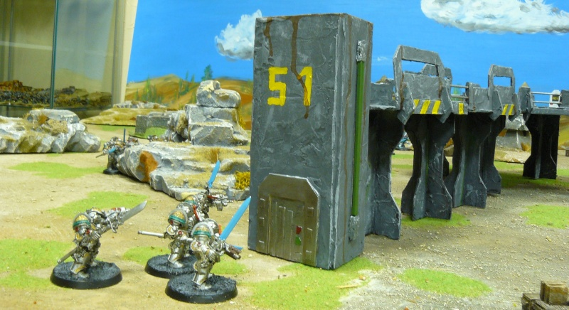 Warhammer 40K. Galerie de Batailles ! P1180666