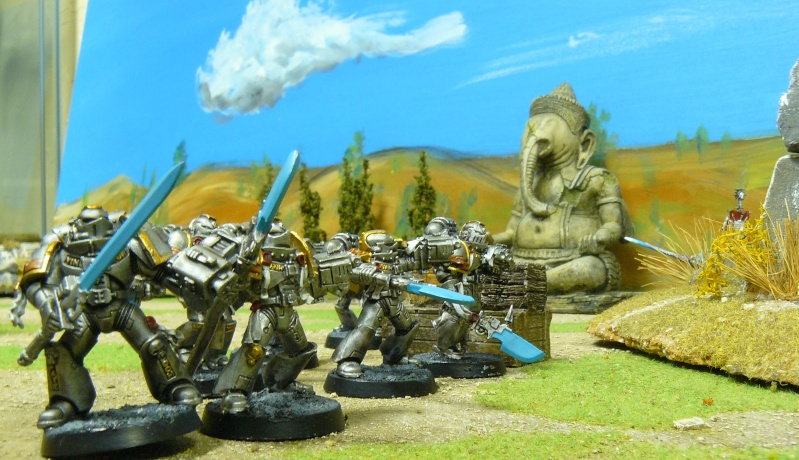 Warhammer 40K. Galerie de Batailles ! P1180727