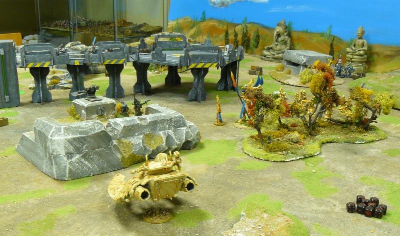 Warhammer 40K. Galerie de Batailles ! P1180729