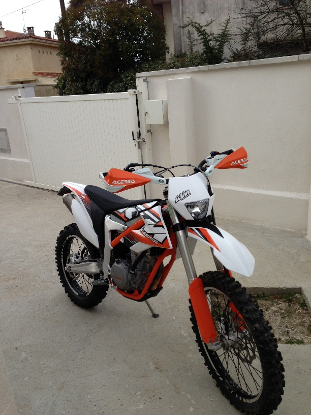 KTM freeride 350 ( essai,modif et technique) - Page 3 Freeri11