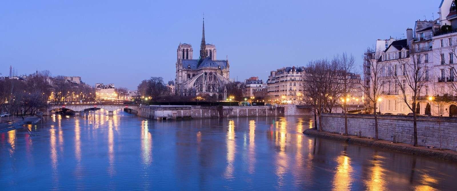 LES PHOTOS: lever de soleil sur la Seine 20130217