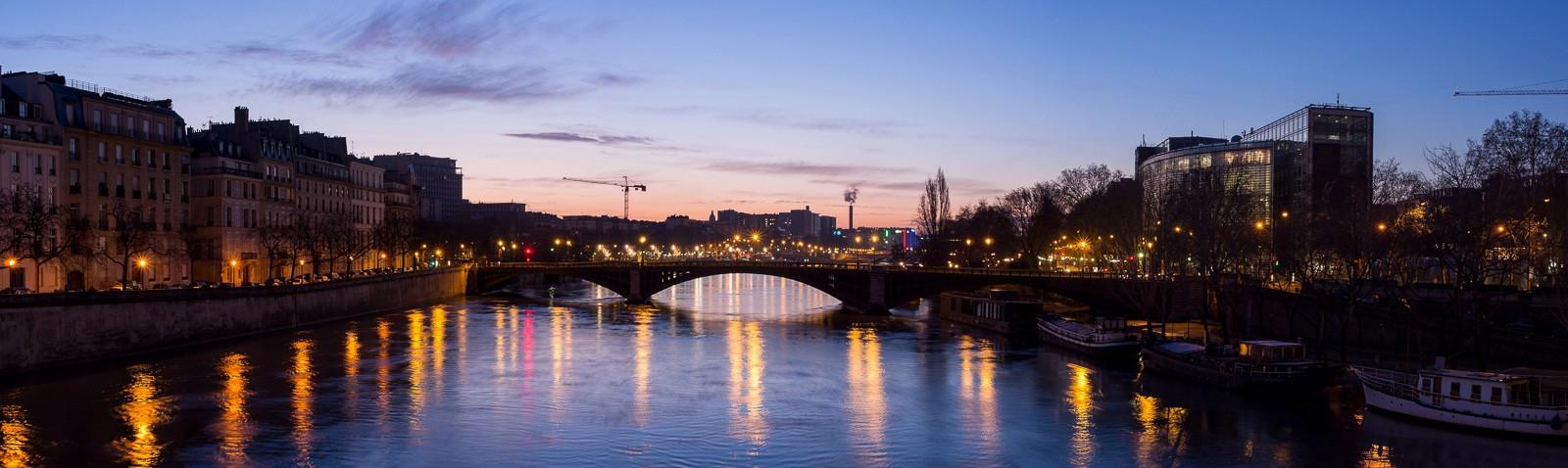 LES PHOTOS: lever de soleil sur la Seine 20130218