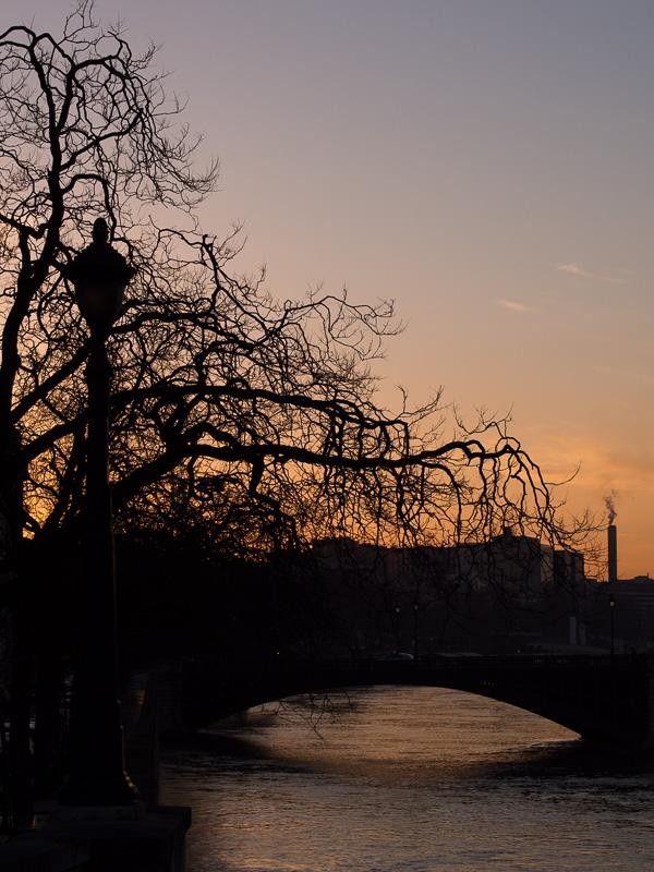 LES PHOTOS: lever de soleil sur la Seine 20130221
