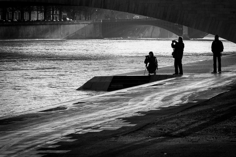 LES PHOTOS: lever de soleil sur la Seine 20130225