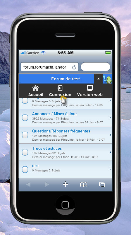 [Forum]Forum version SmartPhone/Mobile iPhone/Android/Window - Page 2 Connex11