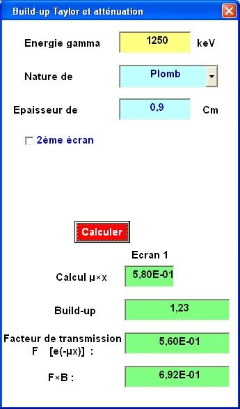 Calculs d'épaisseurs de matelas de plomb Bu_bmp10