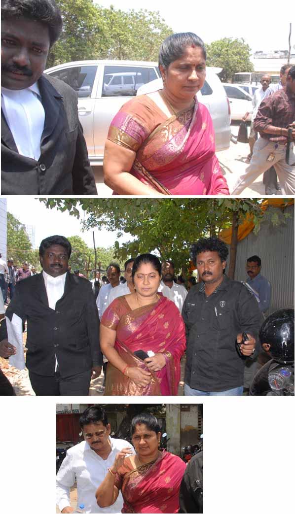 நடிகை அஞ்சலியை கடத்தி விட்டனர்: போலீஸ் கமிஷனரிடம் சித்தி புகார் Anjali11