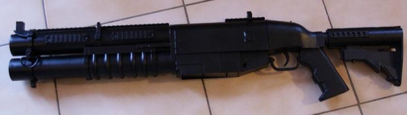 Tuto Fabriquer une crosse de type M4 en PVC - Page 3 Mont_141