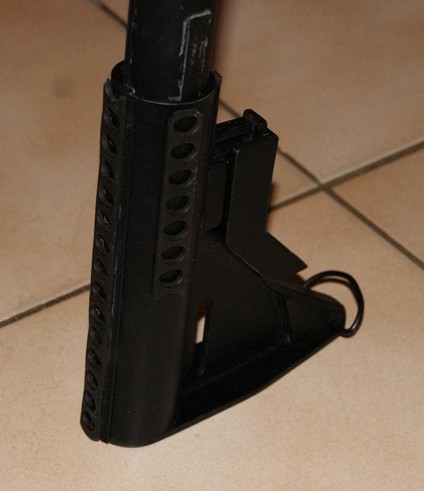 Tuto Fabriquer une crosse de type M4 en PVC - Page 2 Montag14