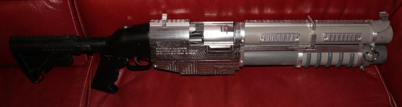 Tuto Fabriquer une crosse de type M4 en PVC - Page 2 Montag22
