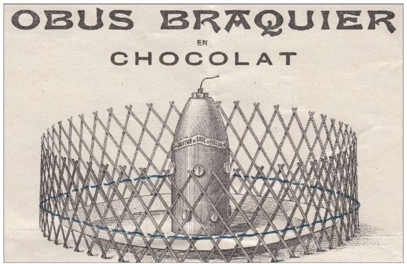 L'obus Braquier (Chocolate shells) 00211