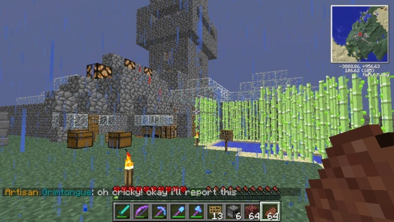 corruptonxy house was griefed again 2013-016