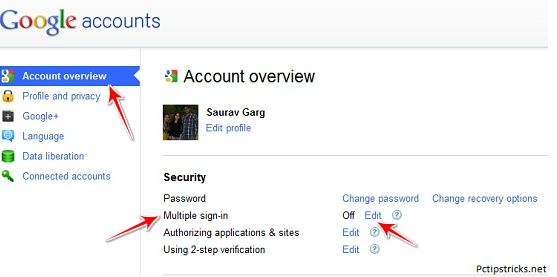 Access Multiple GMAIL Account in Same Browser 121810