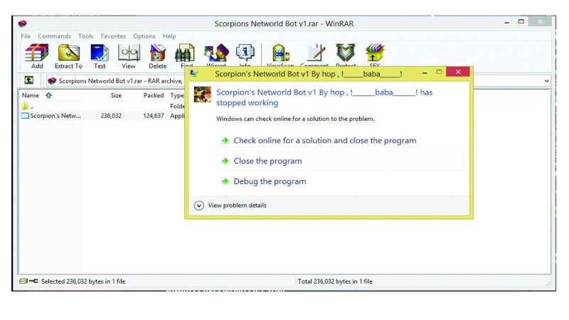 Scorpion's NetWorld Full Commands Bot With Chat Room  Not10