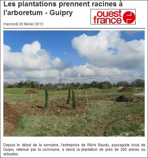 """Arboretum de Guipry """"Arboparc"""" Arbo10"""