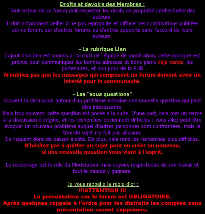 A LIRE IMPERATIVEMENT AVANT INSCRIPTION Charte21
