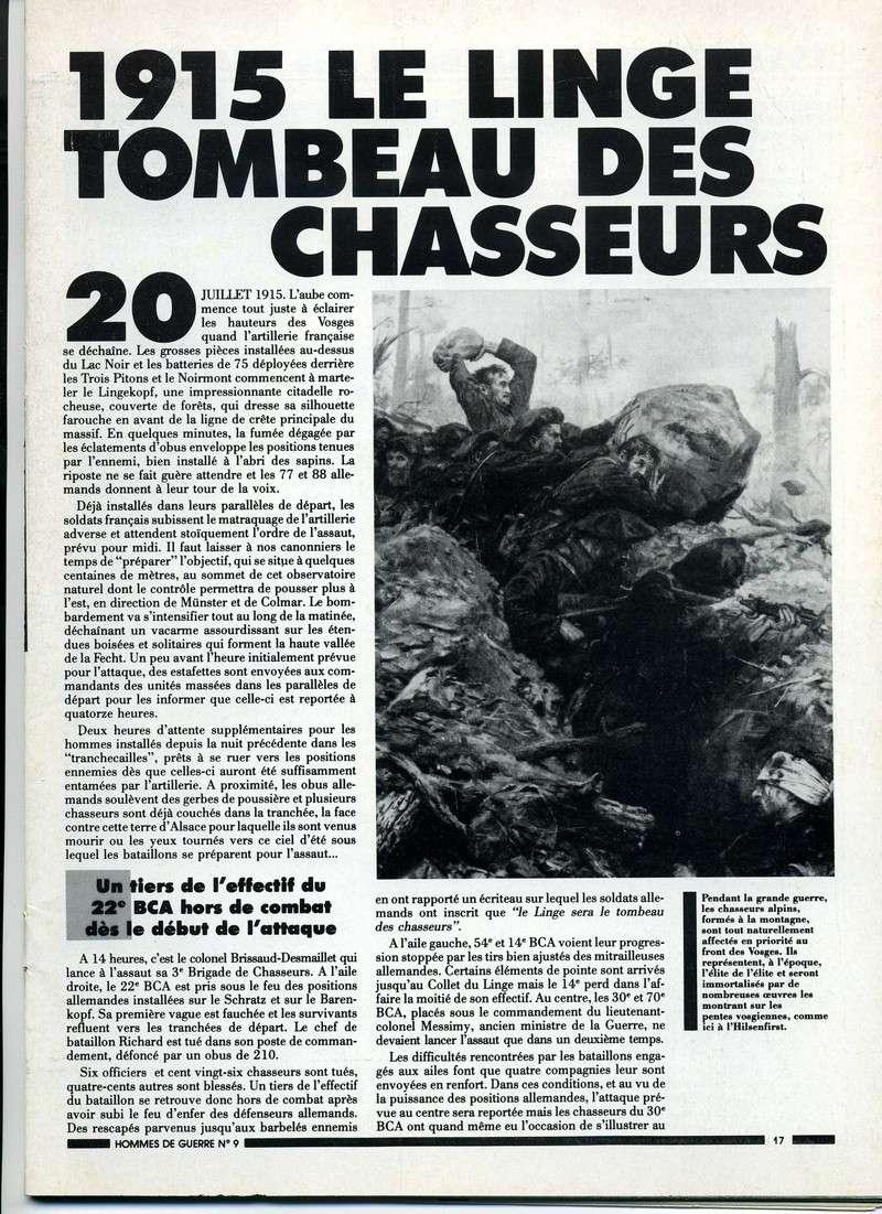 1915 : Le LINGE , tombeau des chasseurs Linge-11