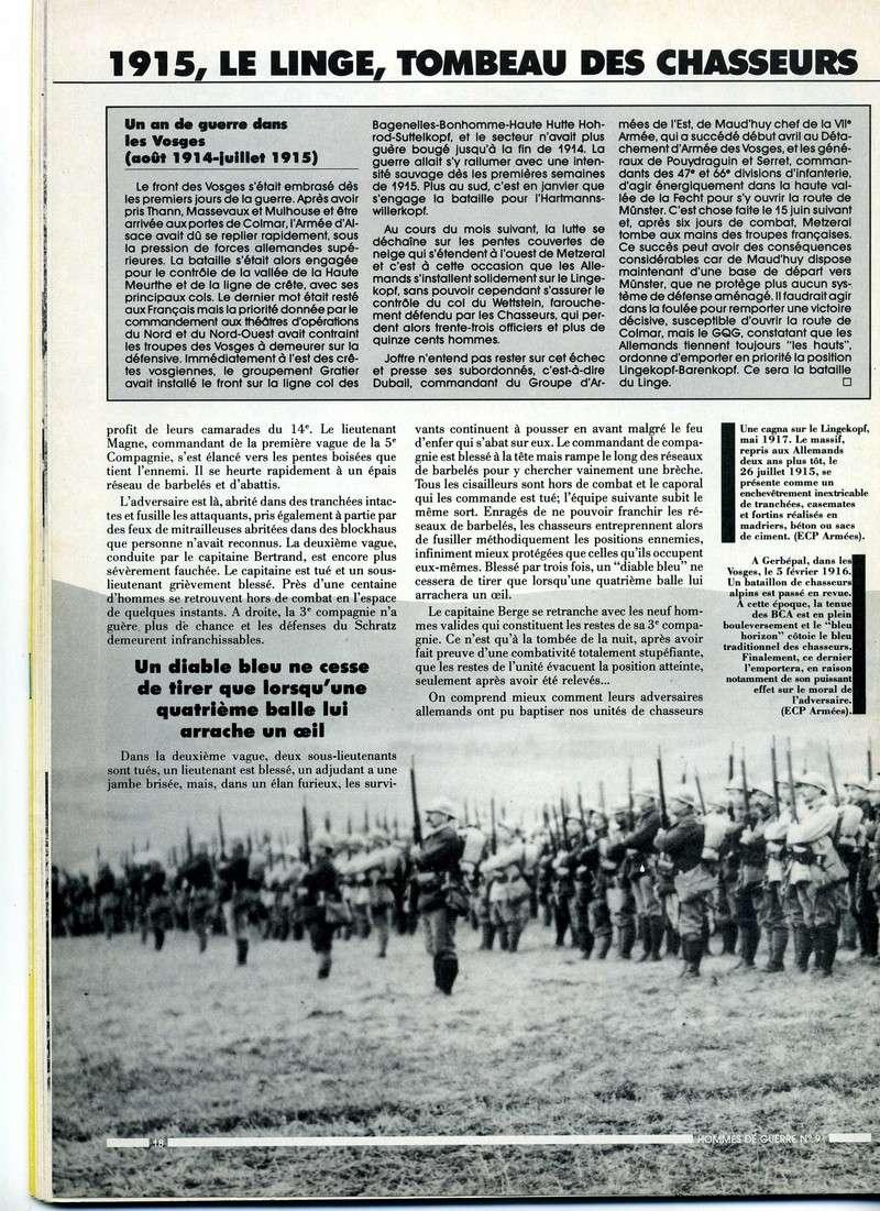 1915 : Le LINGE , tombeau des chasseurs Linge-12