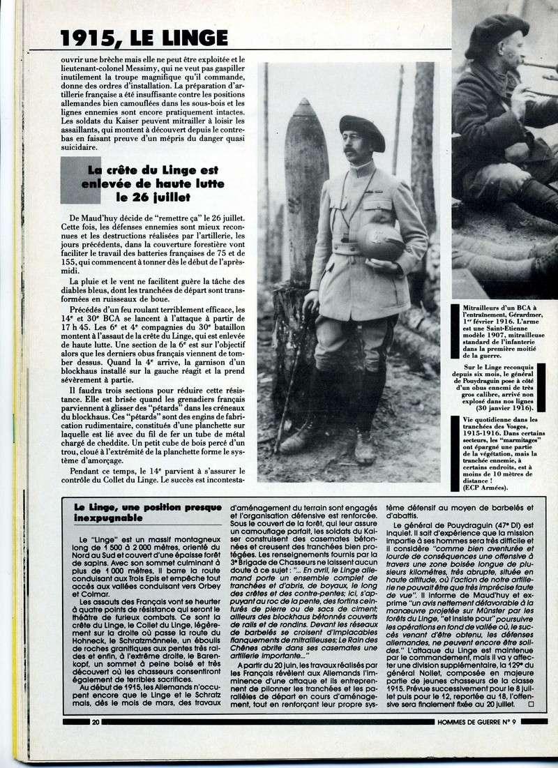 1915 : Le LINGE , tombeau des chasseurs Linge-14