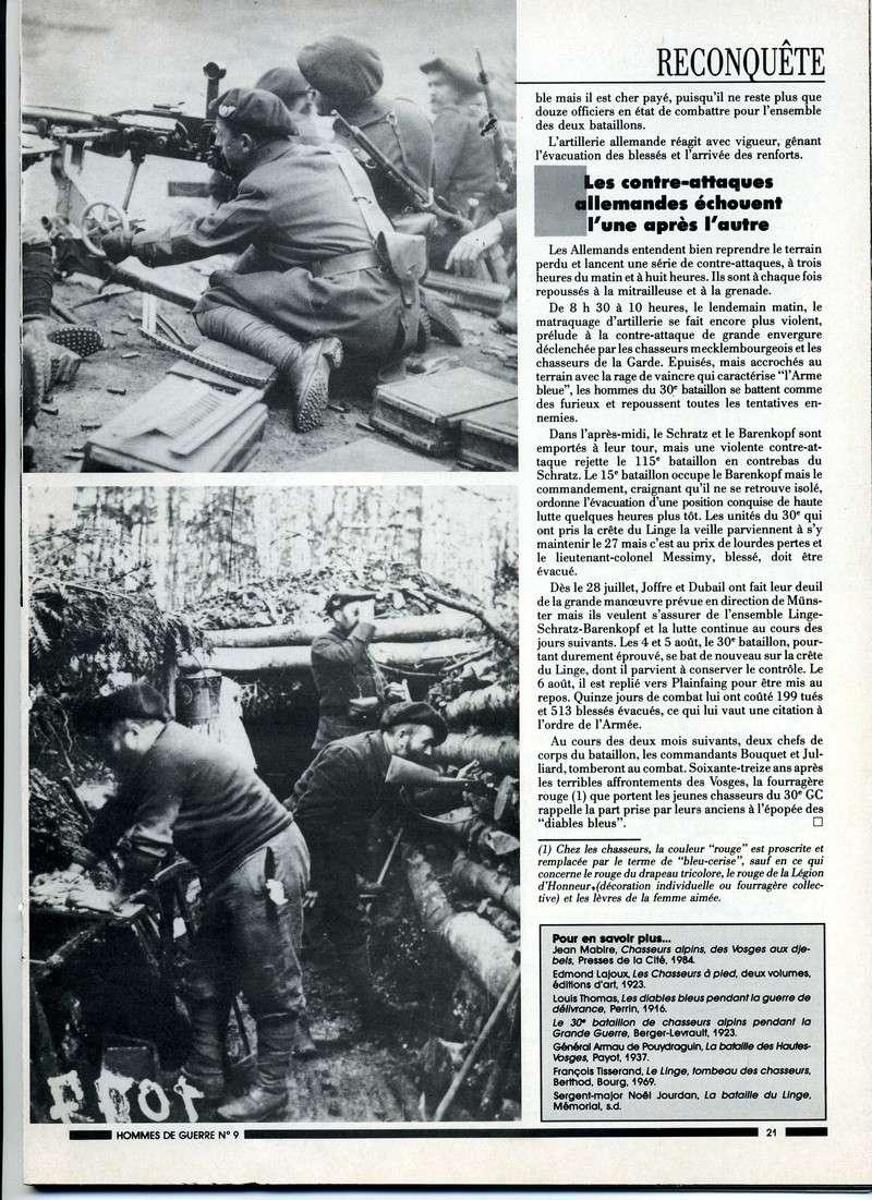1915 : Le LINGE , tombeau des chasseurs Linge-15