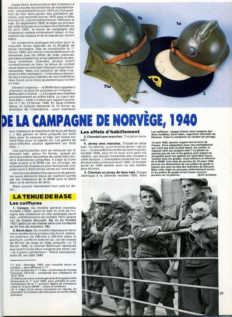 La campagne de NORVEGE Milita17