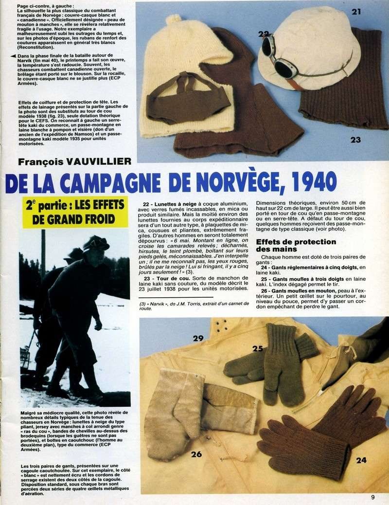 La campagne de NORVEGE Milita24