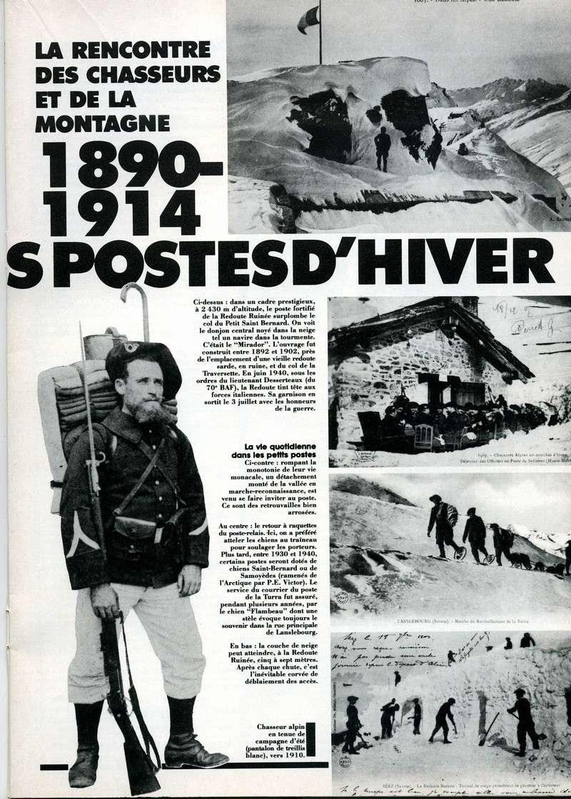 1890-1914 : LES PREMIERS POSTES D'HIVER Postes11