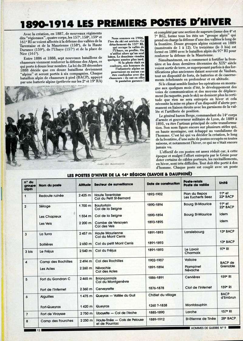 1890-1914 : LES PREMIERS POSTES D'HIVER Postes12