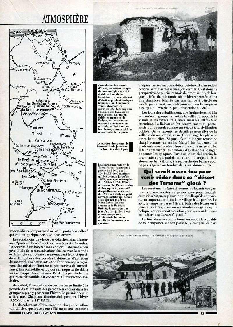 1890-1914 : LES PREMIERS POSTES D'HIVER Postes13