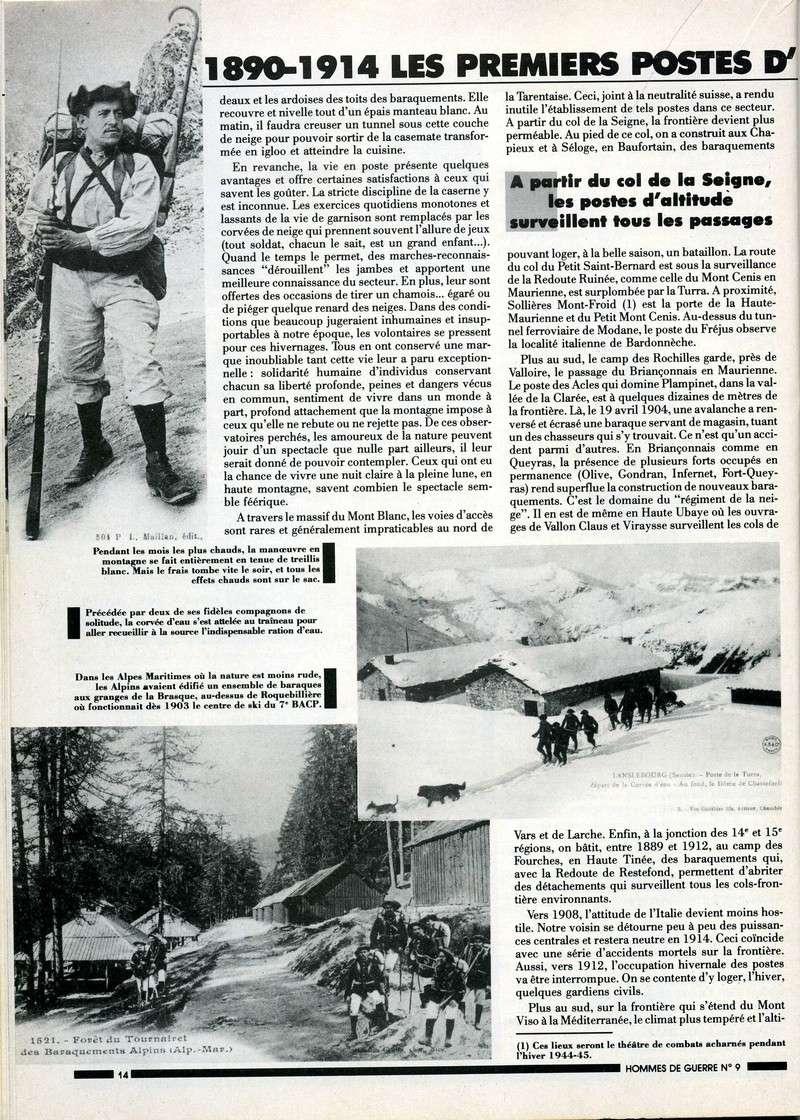 1890-1914 : LES PREMIERS POSTES D'HIVER Postes14