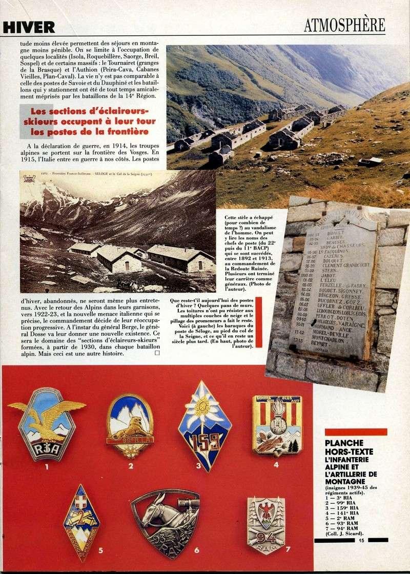 1890-1914 : LES PREMIERS POSTES D'HIVER Postes15