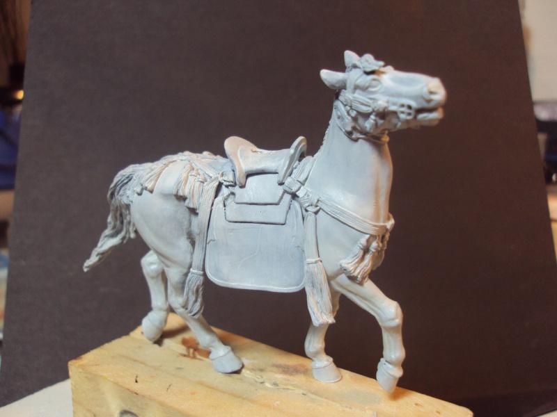 samourai a cheval 54mm 2013-028