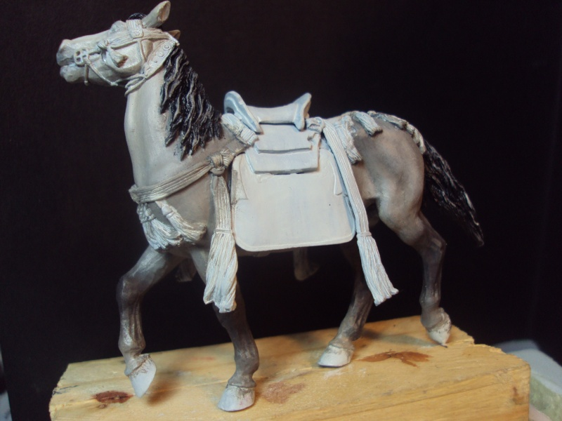 samourai a cheval 54mm 2013-036