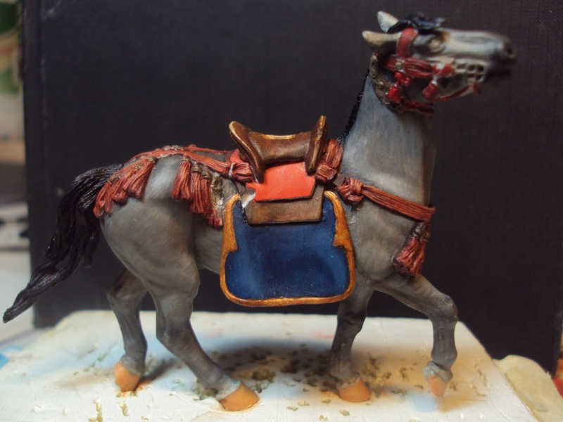 samourai a cheval 54mm 2013-039