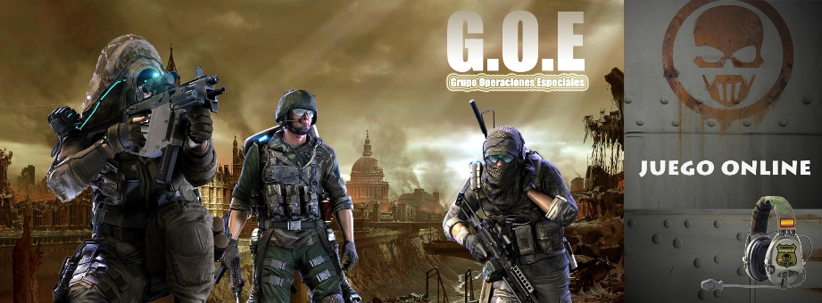 Clan G.O.E Ghost Recon Online